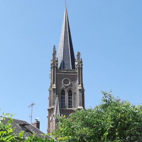 Eglise havernas clocher