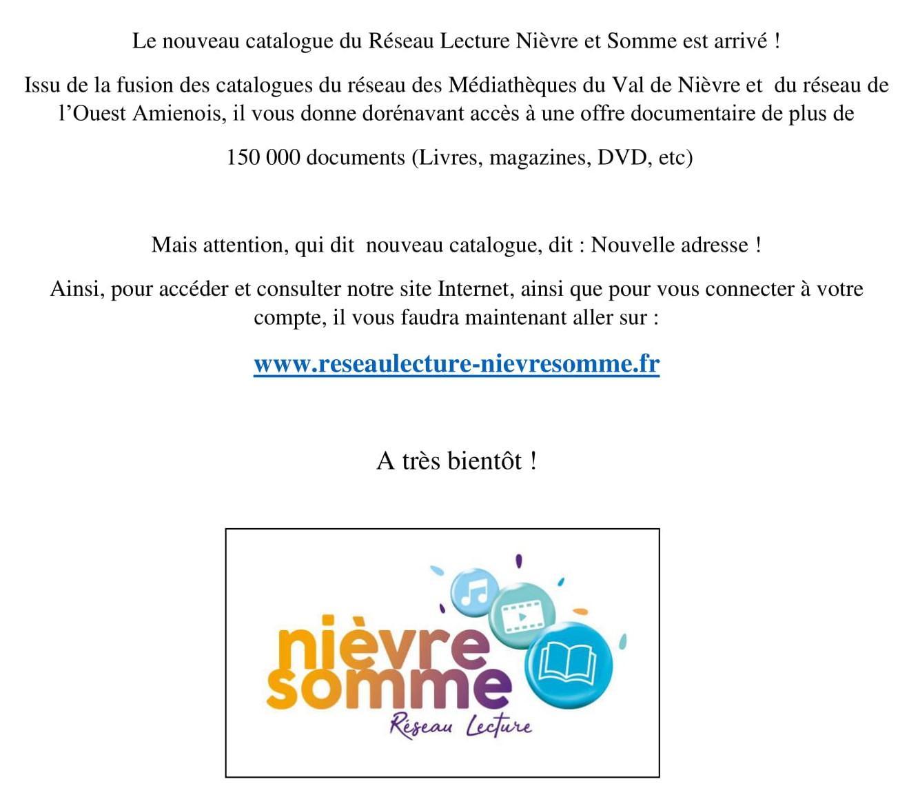 Réseau lecture Nièvre et Somme