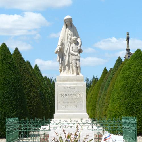 Monument aux morts vignacourt